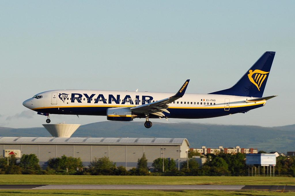 EI-FRO - B738 - Ryanair