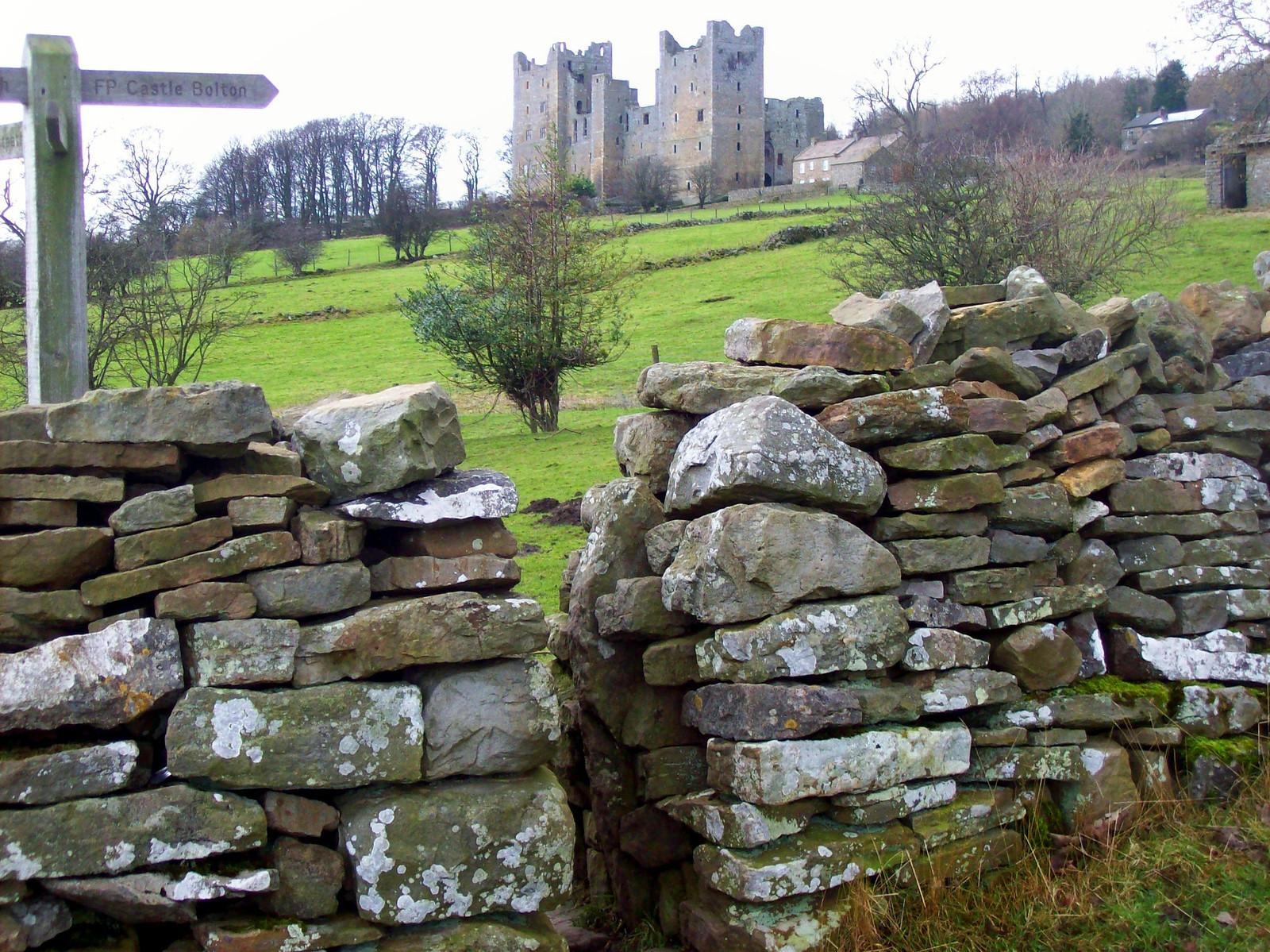 Bolton Castle, Wensleydale. Credit Freddie Phillips