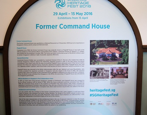 Former Command House Open House