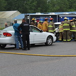 May 5, 2016 - 09:43 - Camden County Mock Wreck to raise awareness of drinking and driving.Credit: Tiffany Mentzer, Camden County Sheriff's Office