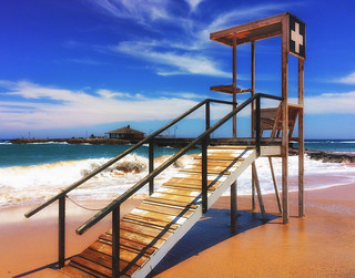 صورة Playa de Guirra الشاطئ الرملي. ocean sea summer beach water waves timber fuerteventura lifeguard safety iphone