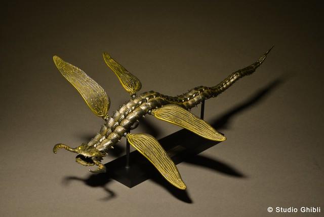 「吉卜力大博覽會」先行販售,竹谷式自在置物《風之谷》蛇螻蛄 鐵錆地調