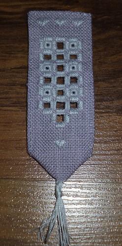 Hardanger bookmark