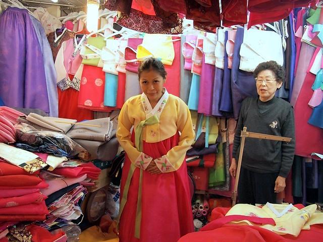 rebecca saw blog- Busanjin Market