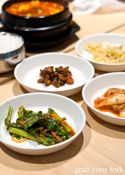 banchan at red pepper, strathfield sports club bistro