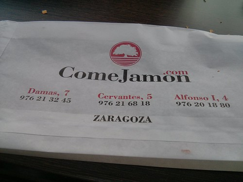 Zaragoza | ComeJamón | Bolsa