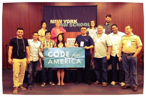 NYC BigApps Demo Night winners and Judges