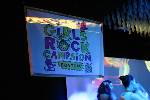 Girls Rock banner