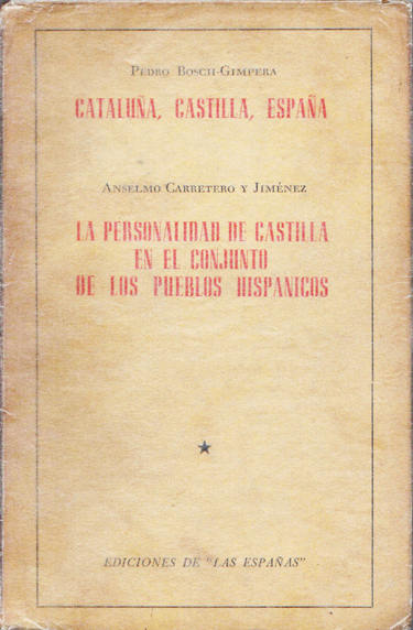 13f07 Bosch Gimpera Cataluña Castilla España Uti 375
