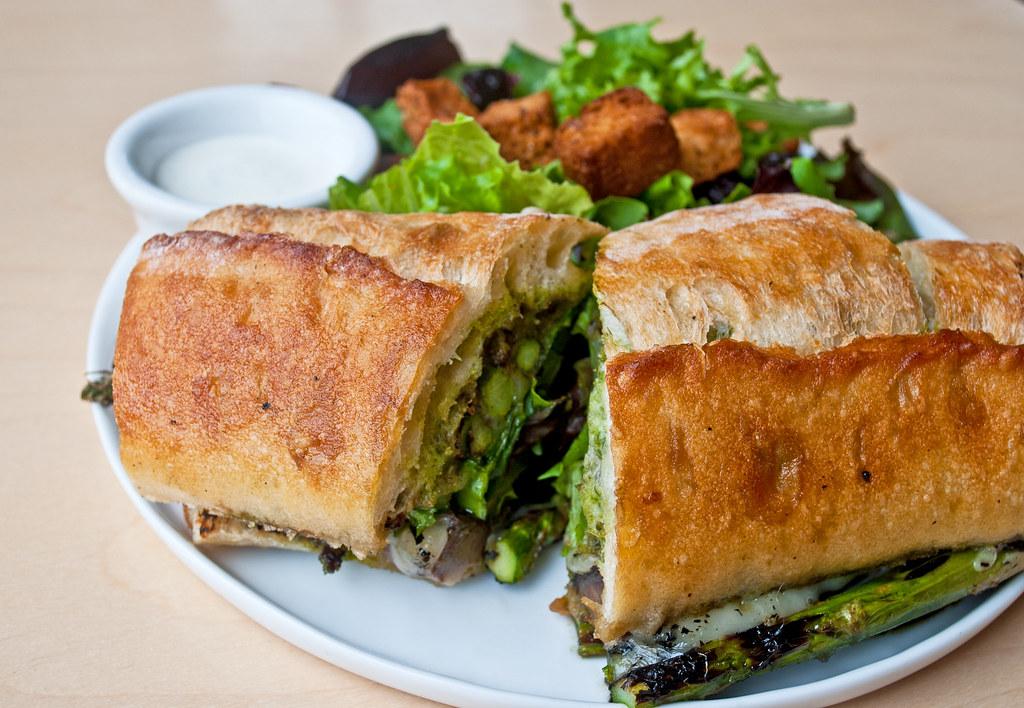 Bonbon Asparagus Sandwich