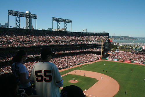 Sold Out Crowd at AT&T Park