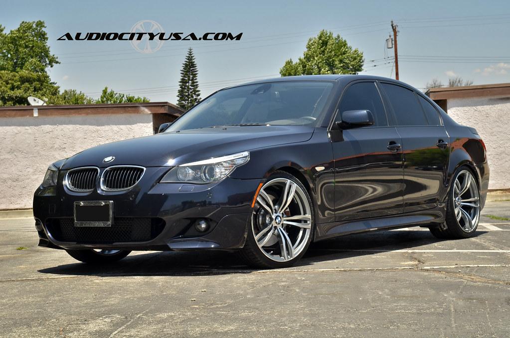 "Bmw 535d Tires >> 20"" M5 Replica wheels on 2008 BMW 550 i Sport."