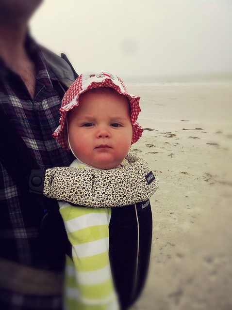 On a beach in south Uist