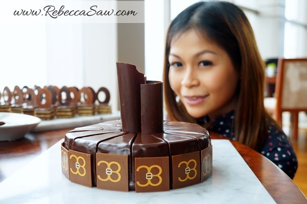afternoon Tea, Valrhona Chocolate Buffet -Thirty8, Grand Hyatt KL