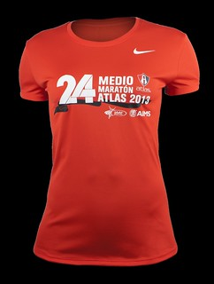 Playera Medio Maratón Atlas 2013