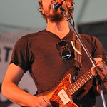 Phosphorescent gets the crowd going at the Quad stage on Friday. Photo by Neil Swanson