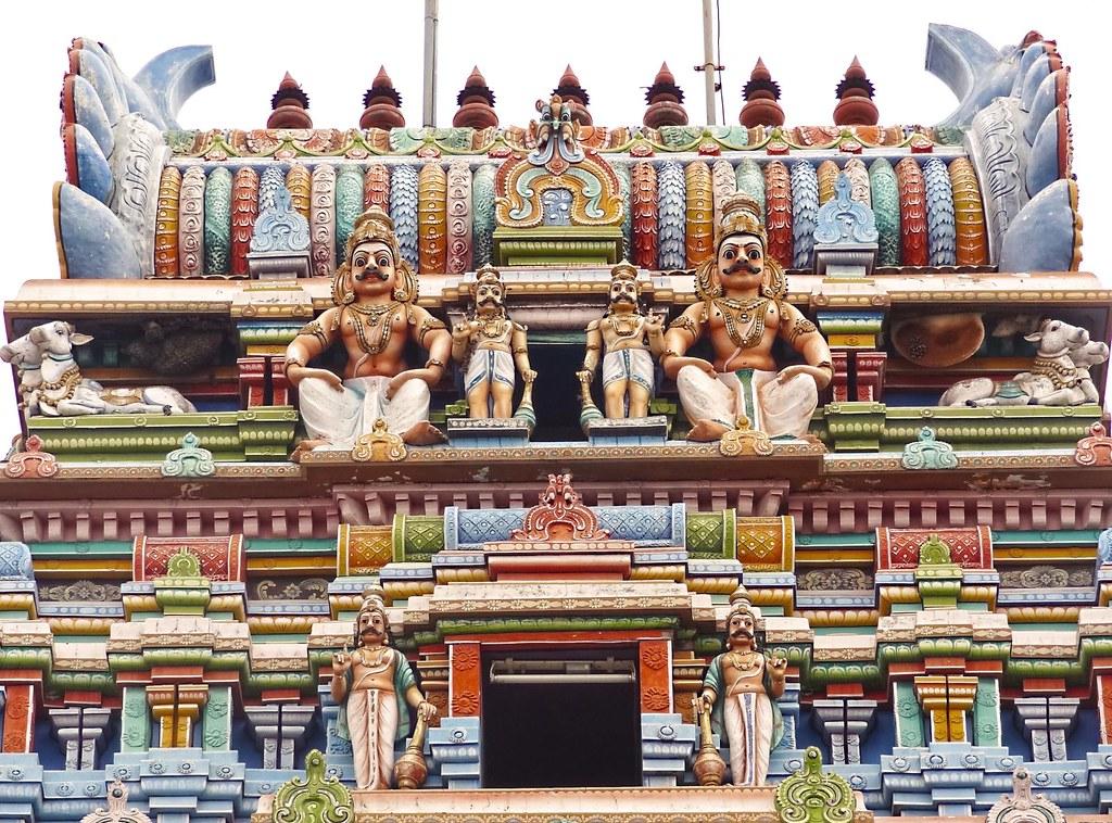 Art on the Gopuram