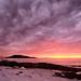 sunset by John A.Hemmingsen