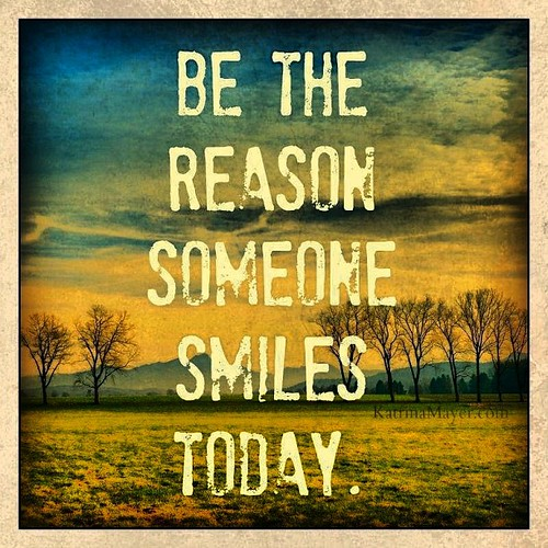 Be the #reason someone #smiles today! #Great #Quote!!                    #Happy #sunday #morning #thankful #blessing #higher #power #god the more you #give the better you #feel. :-) #peace
