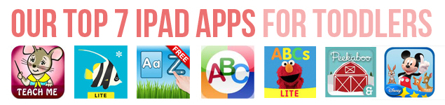 Top 7 iPad Apps For Toddlers