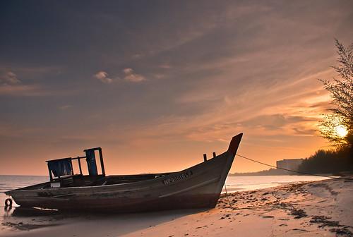 Old Boat | Port Dickson [Explored 13082013]