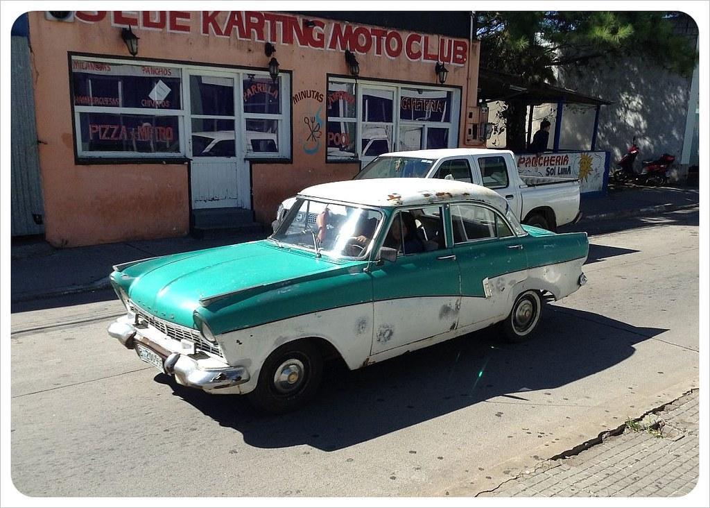 vintage car n uruguay