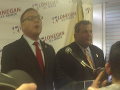 Chris Christie endorses Steve Lonegan
