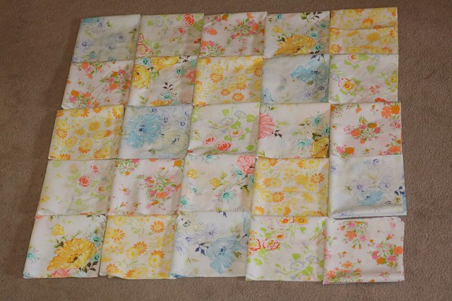 vintage patchwork ~ a repurposed project