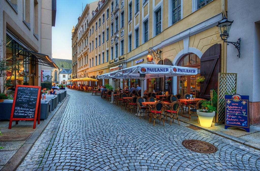 A Leipzig street scene