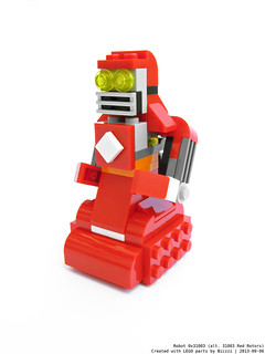 Robot 0x31003 (alt. 31003 Red Rotors)