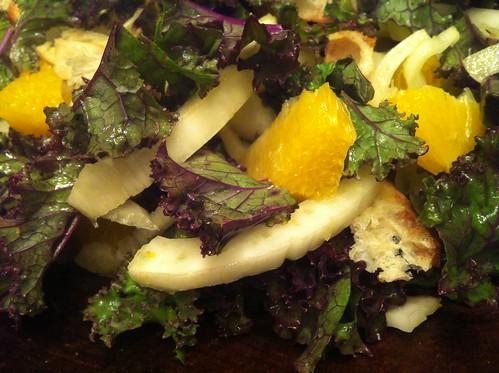 Fennel and Orange Salad with Lemon Ginger Vinaigrette Karen