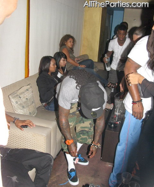 Lil Wayne Dolce Ultra Lounge Style
