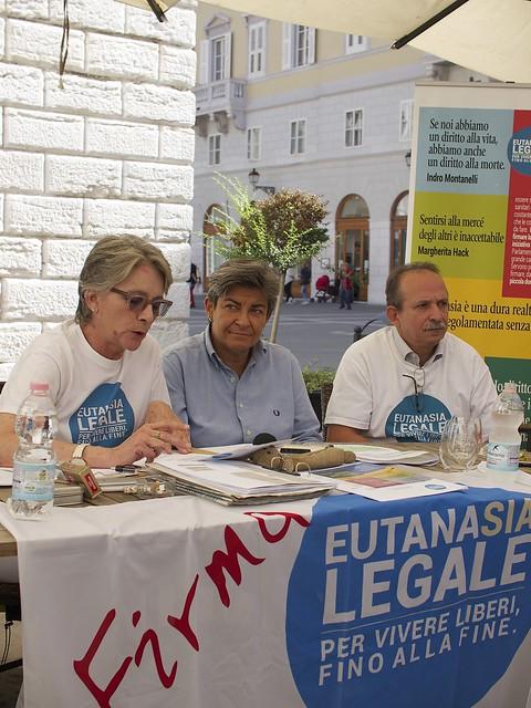 Eutanasia legale - Conferenza stampa di chiusura