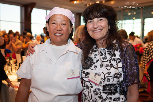 Chef Anital Lo of Annisa and Ruth Reichl