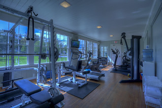 Spruce Point Inn  Fitness Center 13