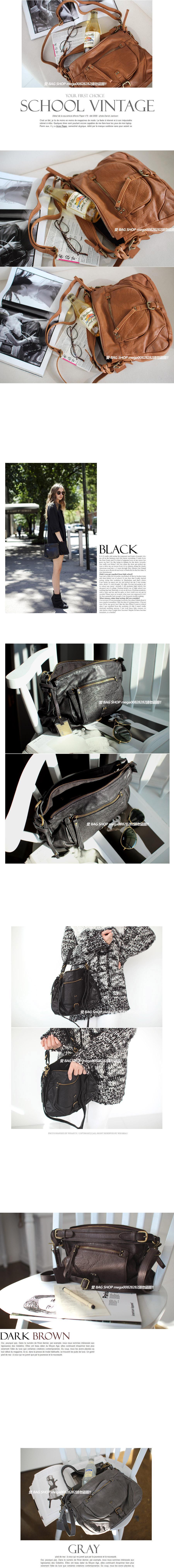 愛 BAG SHOP 韓國 精品包 專賣 DAAD 直率簡約 真皮 新牛皮 肩背 斜背包 2580 黑  焦糖 現貨