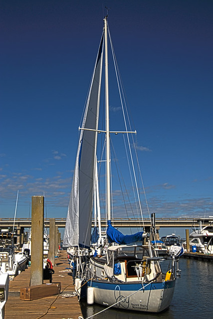 Joys New Jib Sail