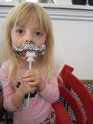 mustache themed first birthday party