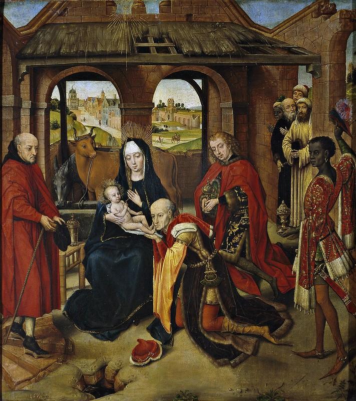 Hans Memling - Adoration des Mages (15th Century)