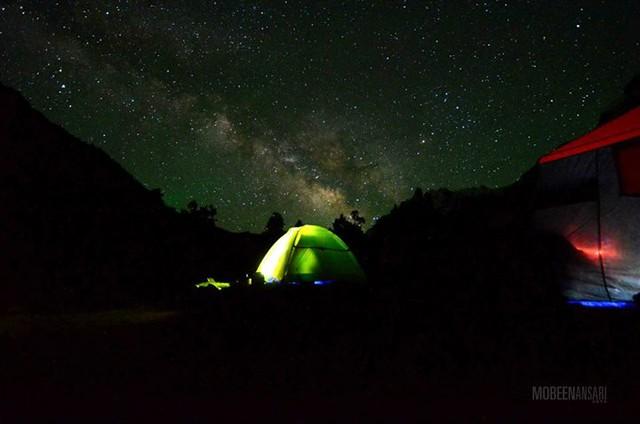 Camp at Naltar Lake, Gilgit-Baltistan