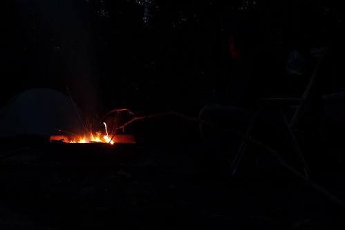 Campfire - Merchants Millpond State Park - Gatesville, NC