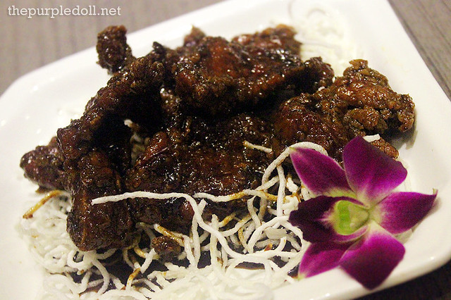 Coffee Pork Ribs (P295)