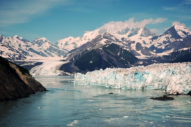 Glaciar Hubbard. Parque nacional y reserva Wrangell-San Elías. Alaska. Estados Unidos.