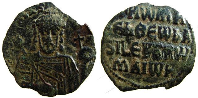 Quelques monnaies byzantines 10624627164_5bd629247d_z