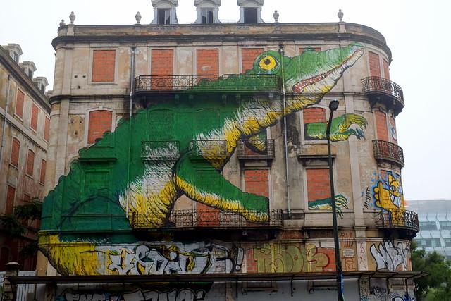 mural . crono project | Erica Il Cane | lisbon