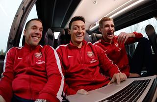 Per Mertesacker; Mesut Ozil; Oezil; Lukas Podolski