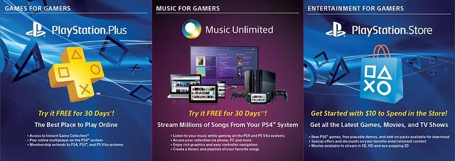 PS4 Bonuses