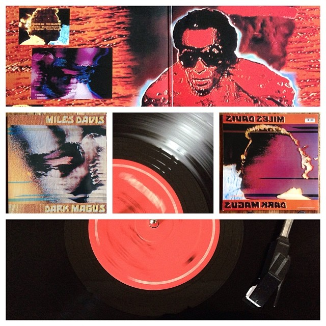 """091113_ #np """"Dark Magnus"""" by Miles Davis #vinyl"""