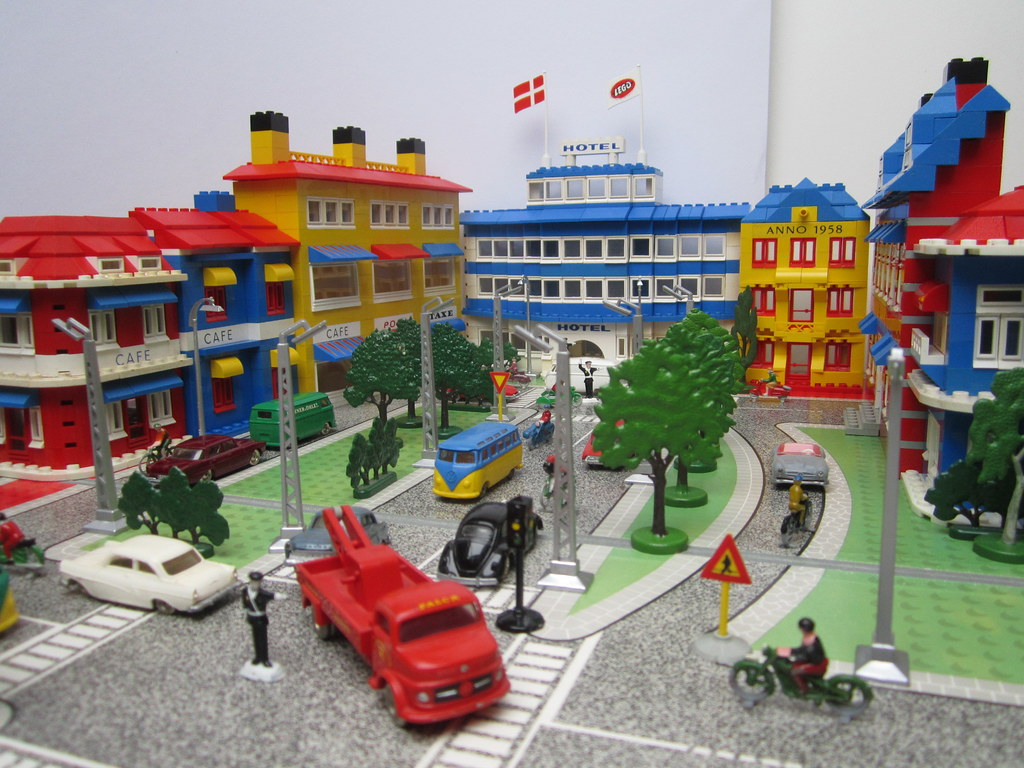 Town Classic Tlg Display Models Lego Town