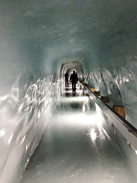 Ice tunnel, Jungfraujoch, Switzerland